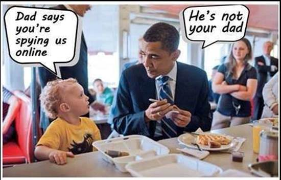 Obama discussing spying on US citizens