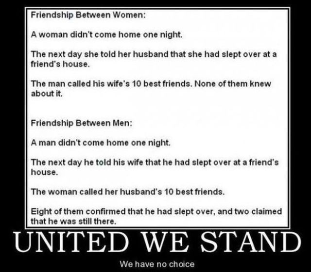 Friends of women and men