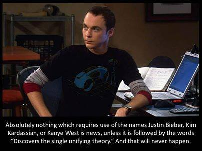 Big Bang Theory: Justin Bieber is not news