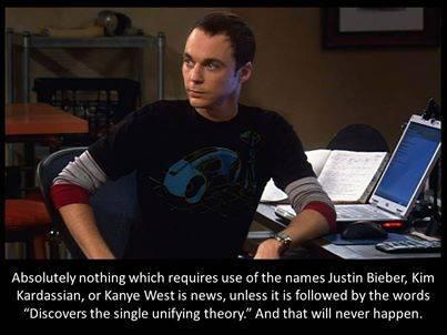 Big Bang Theory: Justin Bieber is not news